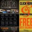 FREE 2013 Calendar!
