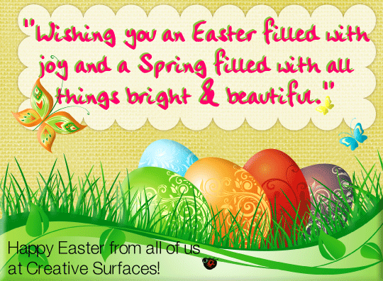 Happy Easter Creative Surfaces Blog