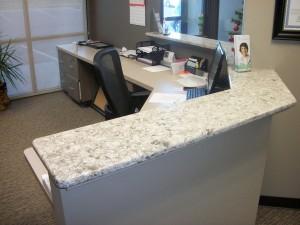 Custom Cabinetry - Reception Desk