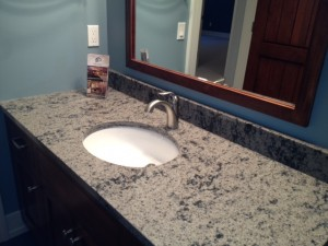 quartz countertops Guest Vanity