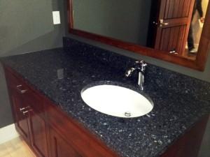 quartz countertops Main Floor Vanity