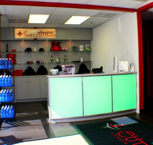 Commercial Cabinetry Built By Creative Surfaces For Cut Fitness Creative Surfaces Blog