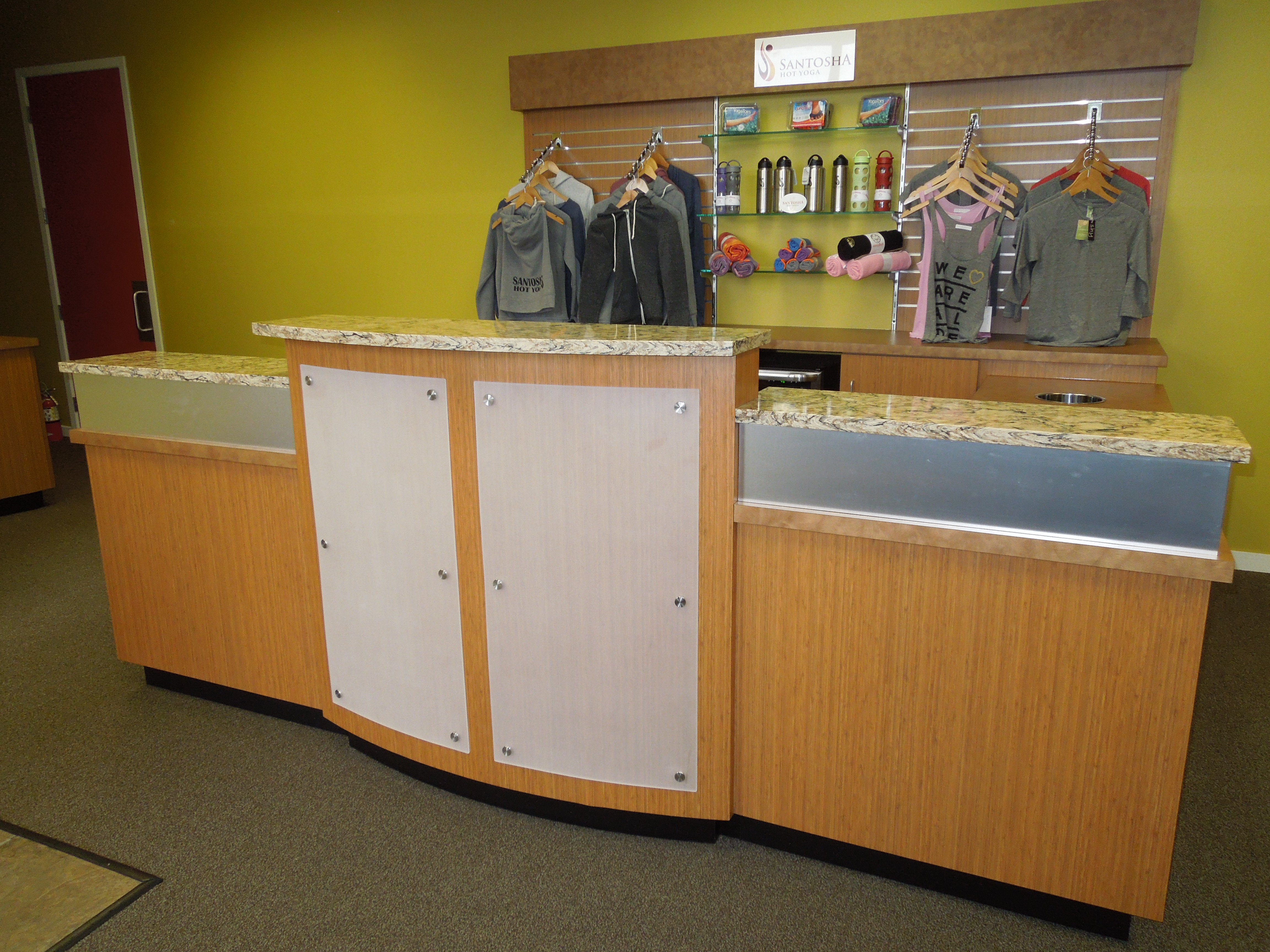 New Commercial Cabinetry For Santosha Creative Surfaces Blog