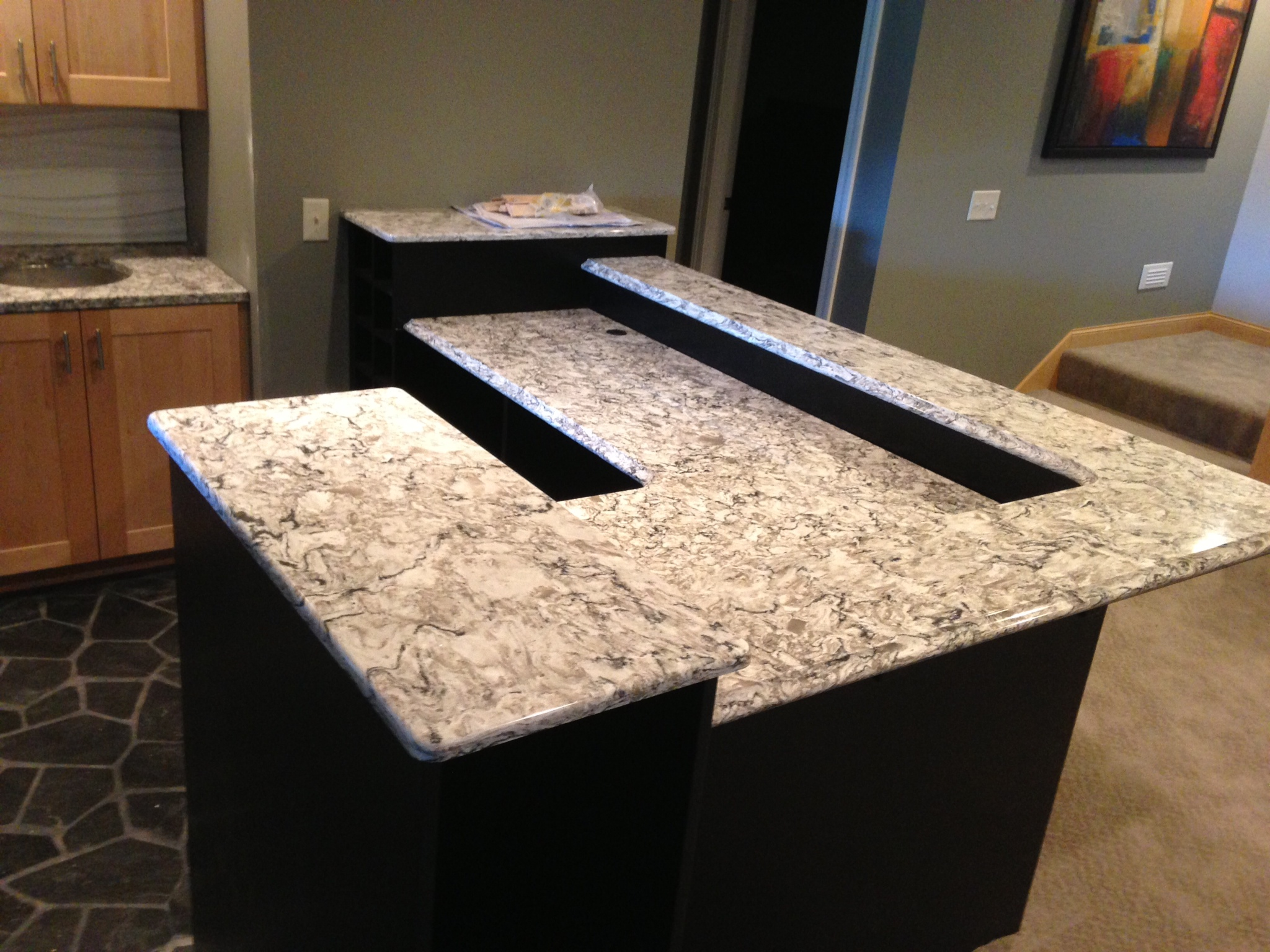 Cambria Quartz Countertops For Haala Home