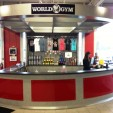 Fitness Center Reception Desk for World Gym