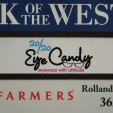 Exterior Business Sign for 20/20 Eye Candy