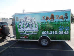Trailer Graphics - Dog Guard