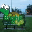 Bright Eyes Daycare Gets Exterior Channel Letter Signage