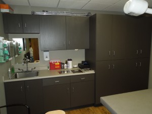 Commercial Cabinetry for CORE Orthopedics