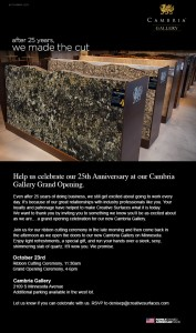 Cambria Gallery on Minnesota