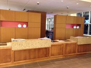 Hotel Millwork - Reception Desk