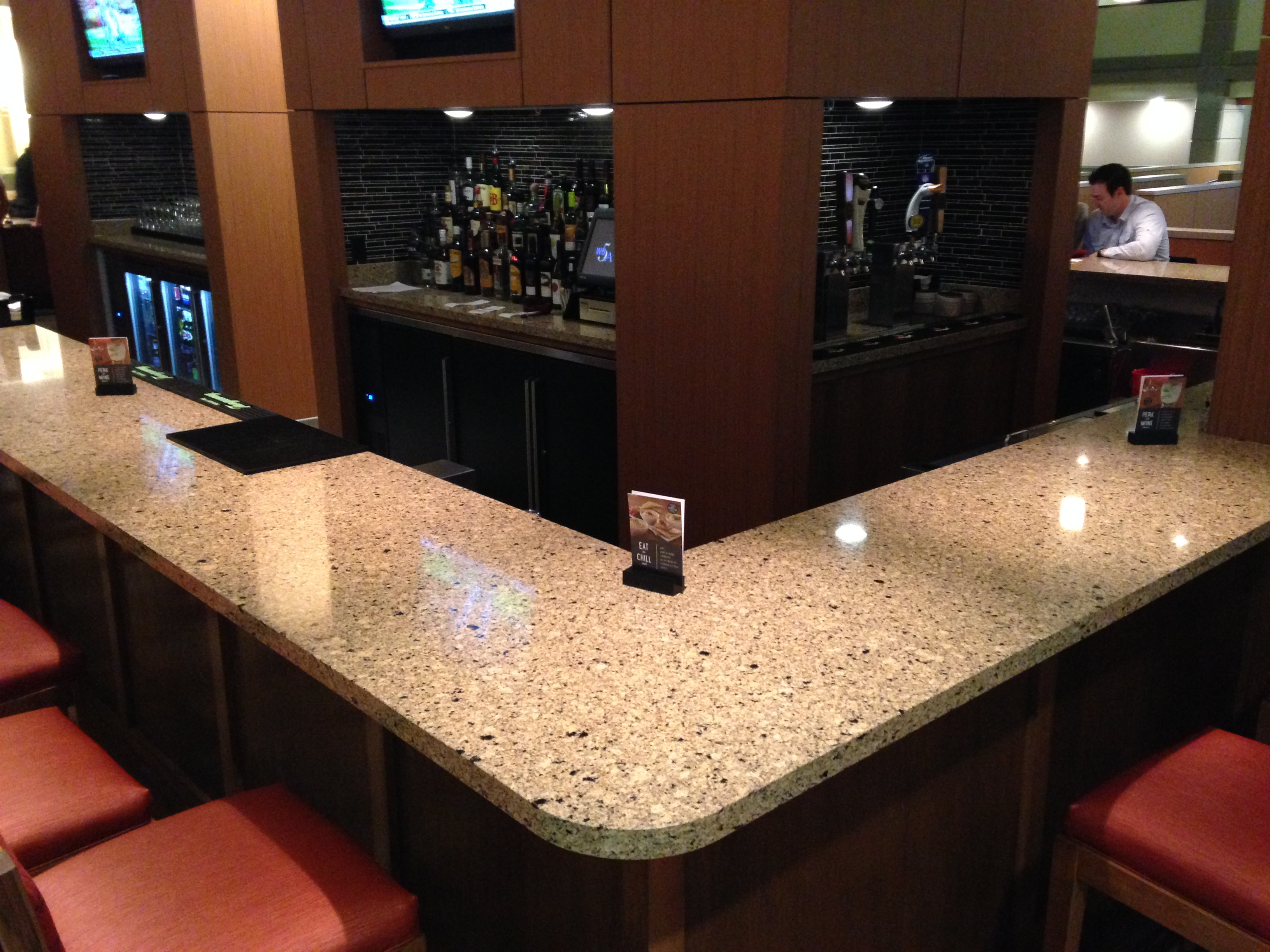 Hotel Millwork   Reception Desk Hotel Millwork   Lobby Bar ...