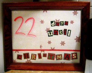 Just 22 Days Til Christmas
