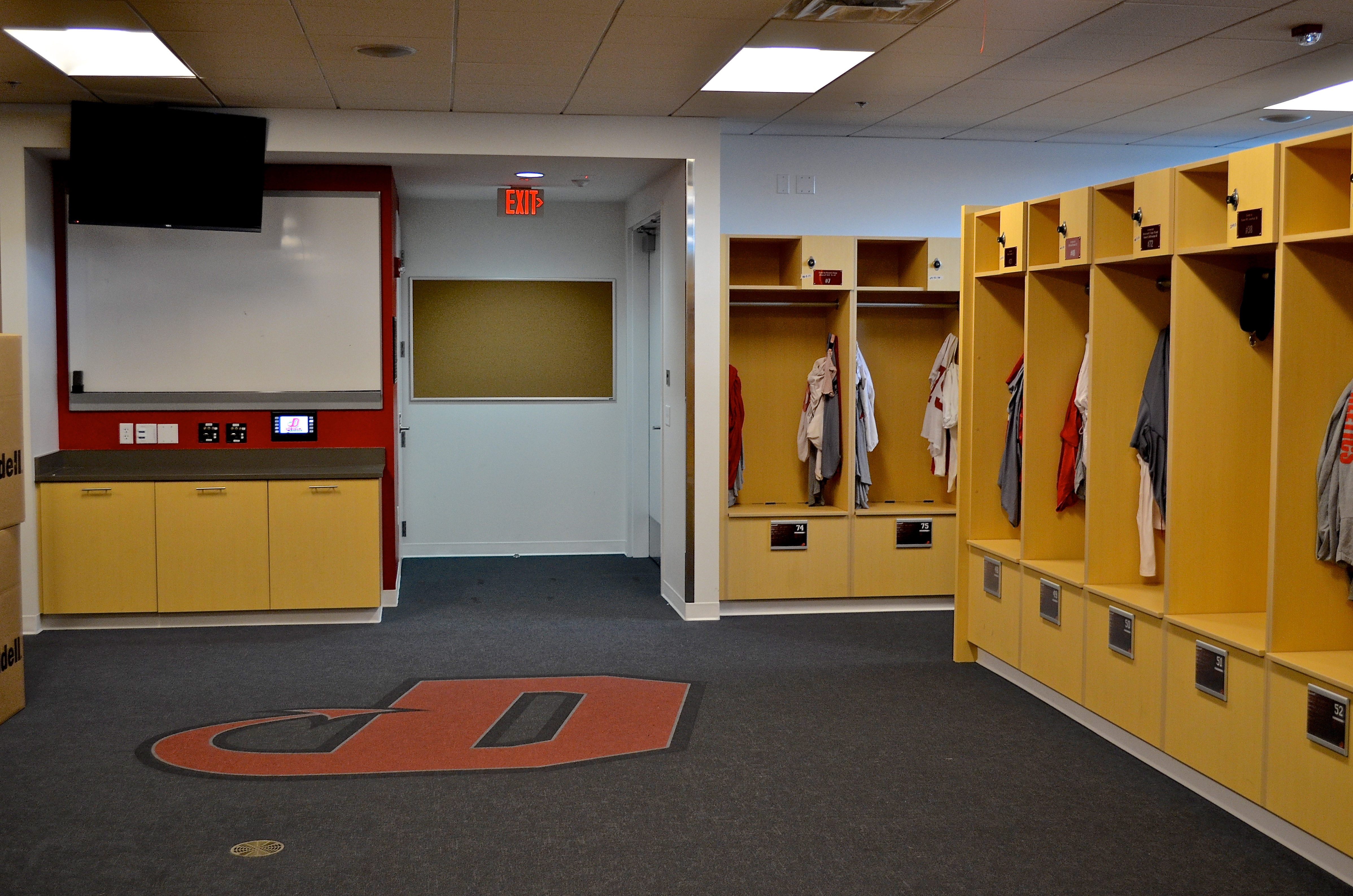 High End Athletic Center Cabinetry Creative Surfaces