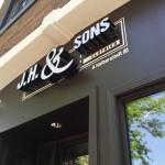 custom exterior business sign