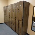 high end fitness center cabinetry