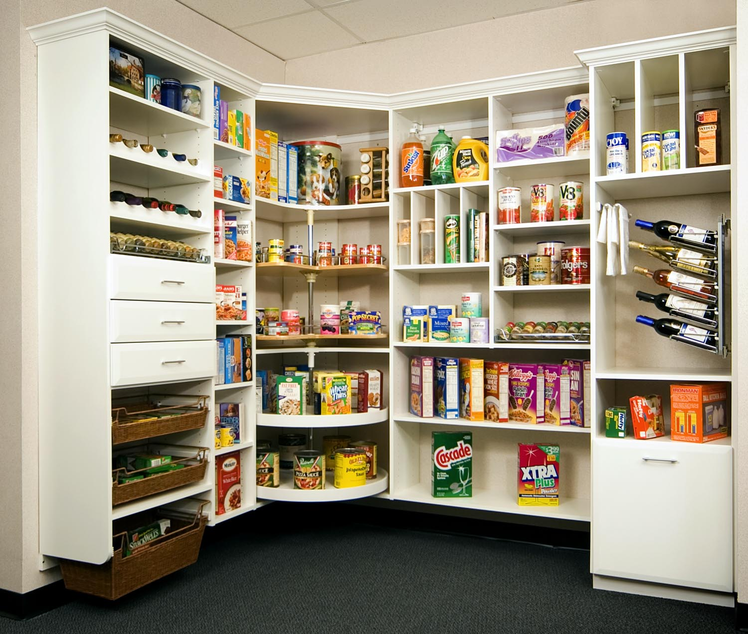 Kitchen pantry ideas creative surfaces blog for Kitchen pantry plans