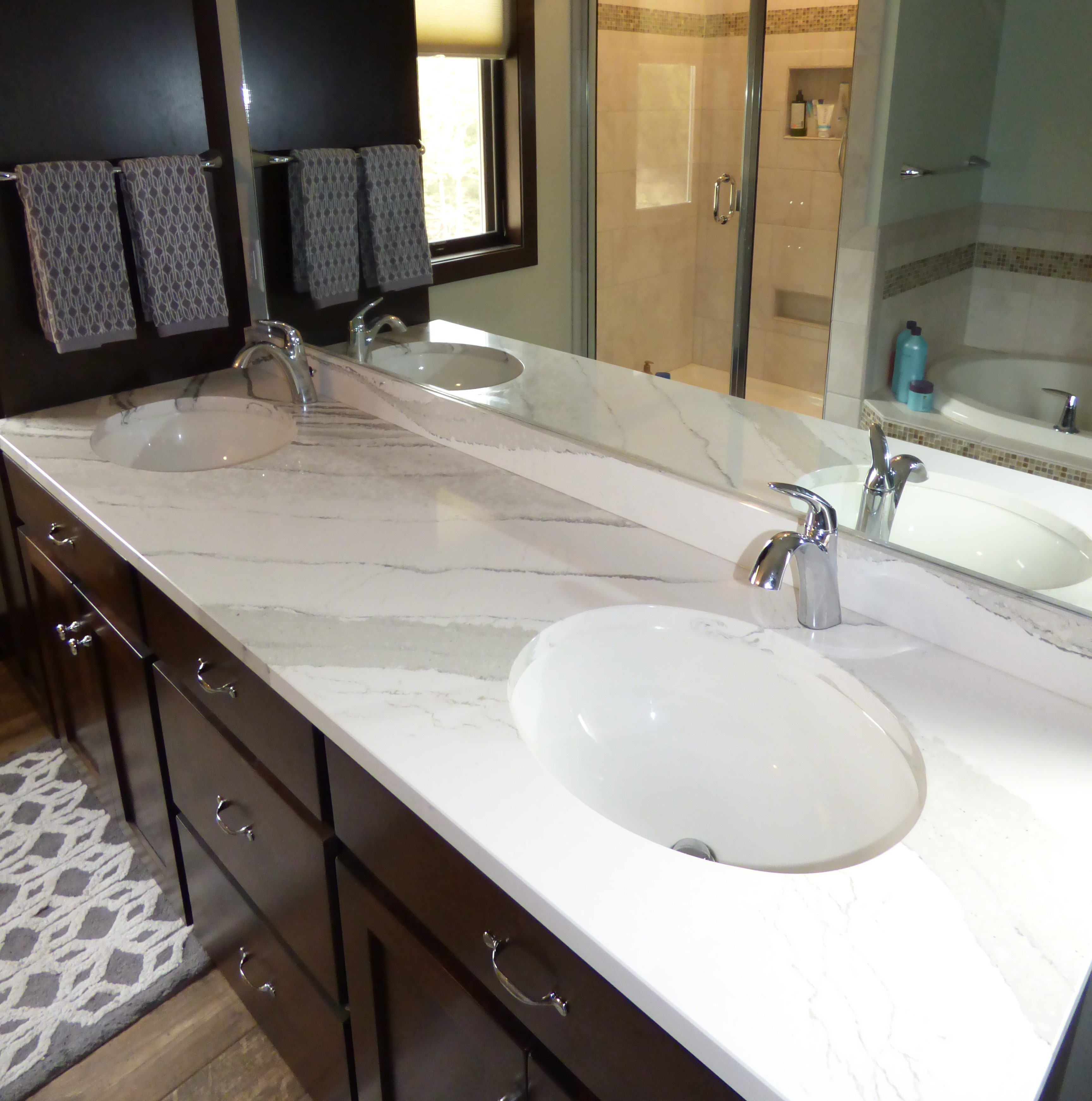 countertop adp white surfaces for custom your granite quartz vanities countertops inspiring enthralling remarkable of from bathroom