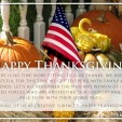 We Are Thankful For…